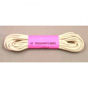 Magician's Rope – 50ft (white)