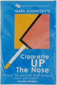 Cigarette Up The Nose