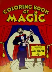 Coloring Book of Magic (Small)