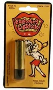 Exploding Lipstick