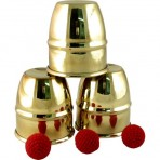 Mini Brass Cups & Balls