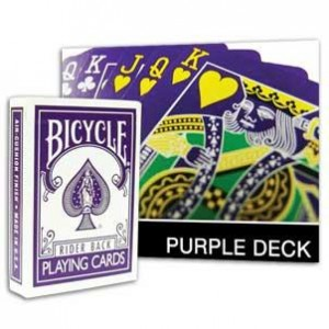 Purple Bicycle Deck