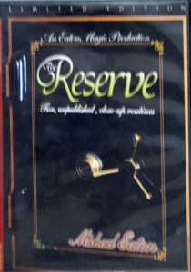 Michael Eaton's The Reserve