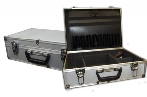 Aluminum Magician Case (Large Grey)