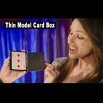 Thin Model Card Box